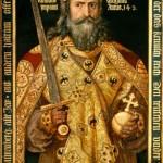 Sapete come vestiva Carlo Magno, re dei Franchi e imperatore?