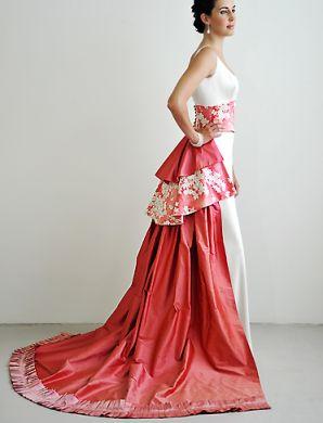 d4a70e97e1eb ... Japanese-style-wedding-dresses 5 Bassani Wedding Japanese Style