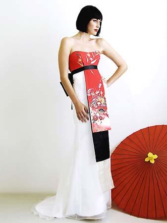 Vestiti Da Sposa Giapponesi.Abiti Da Sposa Moderni In Stile Giapponese Diario Donna